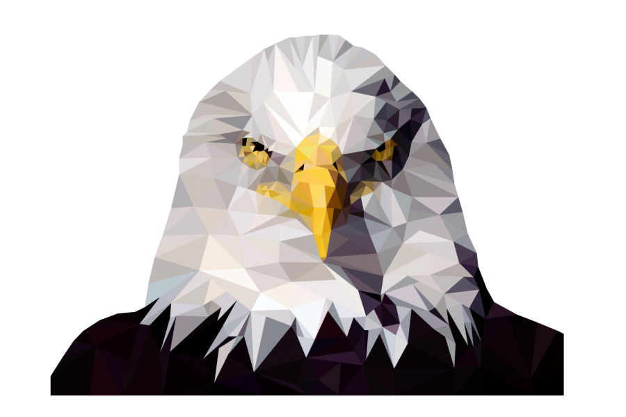 Poly Eagle by Blake Benefiel.