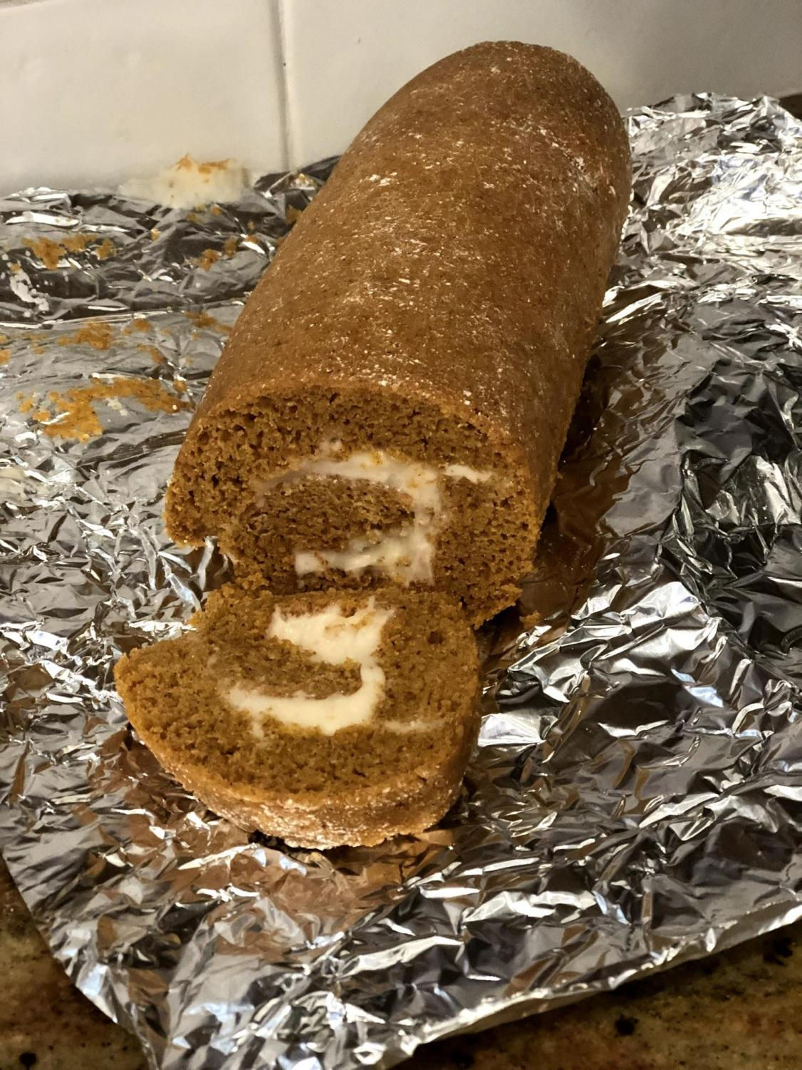 Roll up to Thanksgiving with this pumpkin roll.