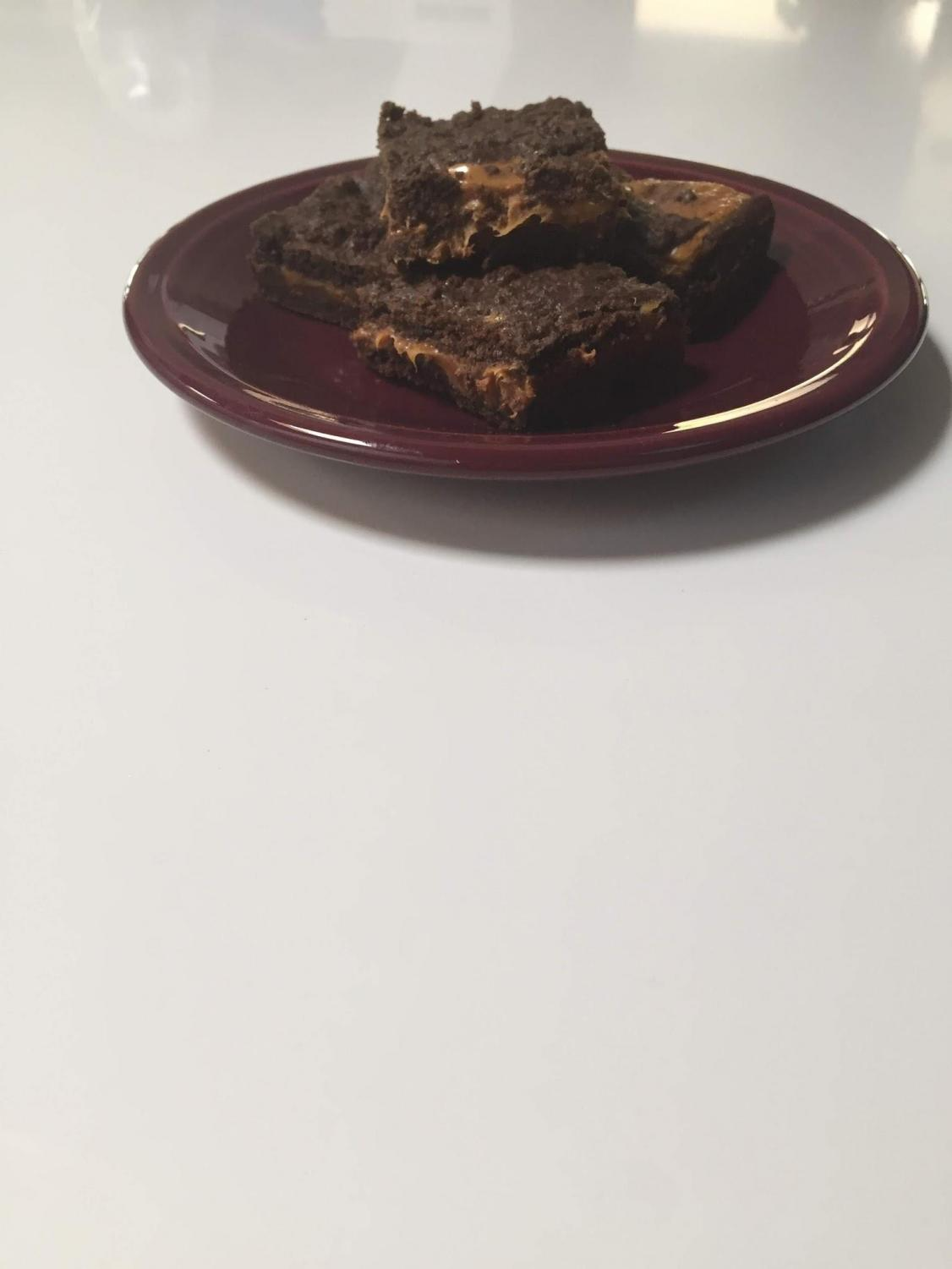 These brownies take the cake.
