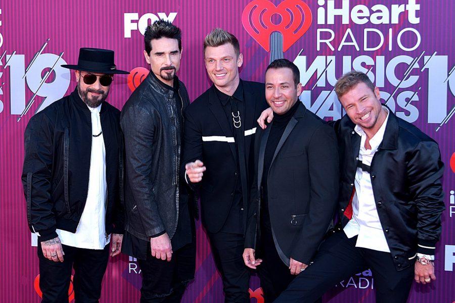 The Backstreet Boys at iHeartRadio Music Awards.