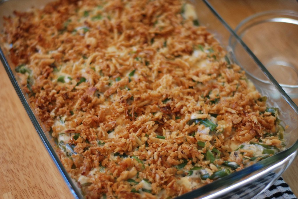 Never doubt the quality of a great green bean casserole at your Thanksgiving dinner.