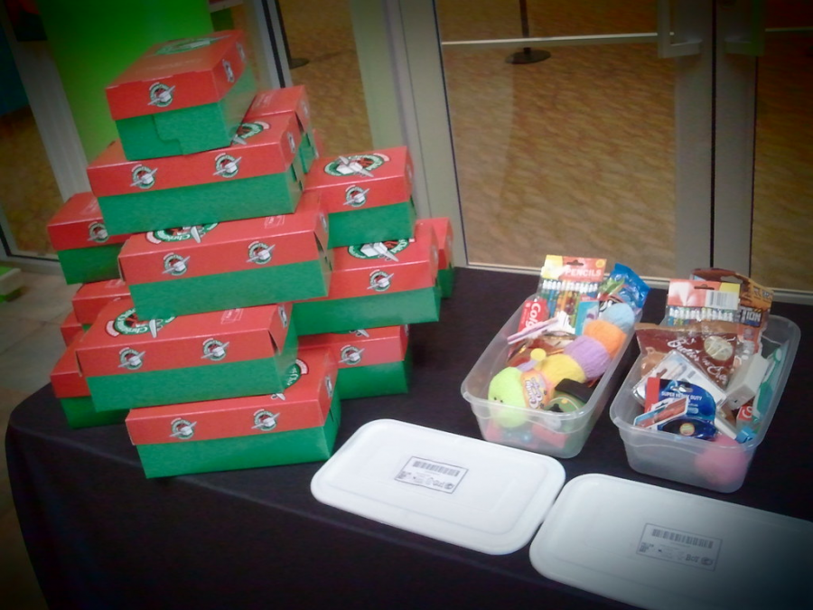 With nothing but a shoebox, you can help a child in need of a Christmas gift.