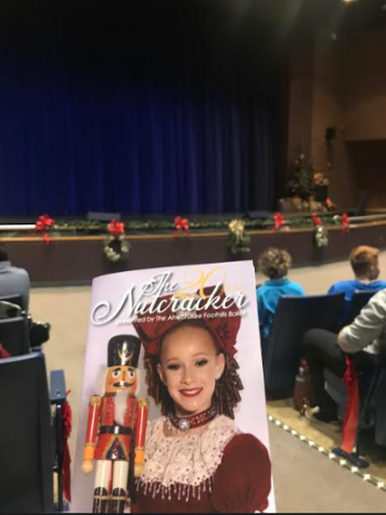 Zora Griffin Todd on the front program of the Ahwatukee Foothills Nutcracker.