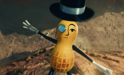 Mr. Peanut in his final moments.