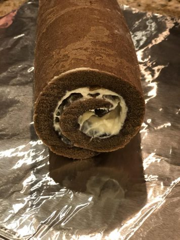 A Swiss roll never fails to disappoint.