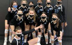 Horizon Honors' JV Girls' Volleyball team