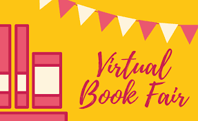 An advertisement for a similar virtual book fair.