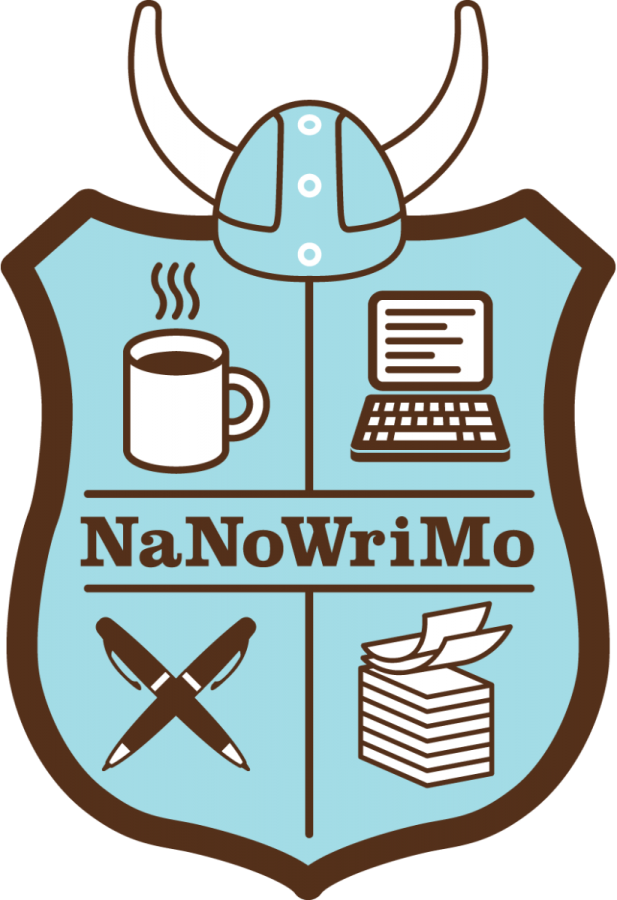 The official logo of NaNoWriMo.