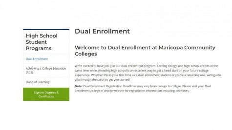 Horizon Students take their dual enrollment courses through Maricopa Community Colleges.