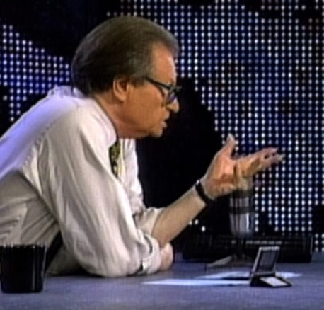 The world will remember legendary journalist Larry King.