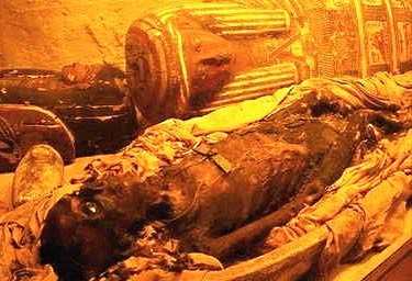 The process by which corpses are preserved for the afterlife is intricate and complex.