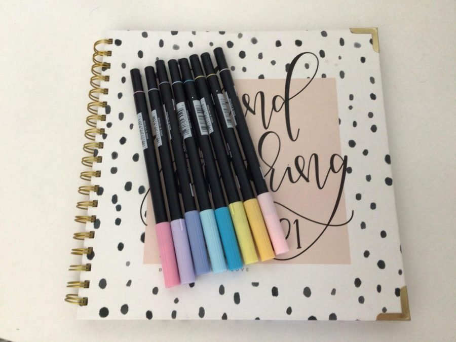 Bullet journaling is a great way to express your feelings in an artsy way.