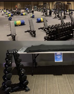 Changes are made to the NCAA weight rooms after reports of sexism.