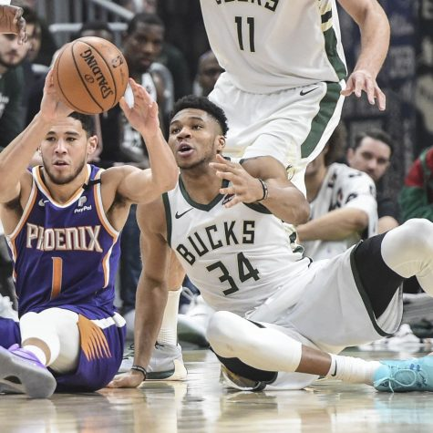 The Phoenix Suns beat the Milwaukee Bucks.