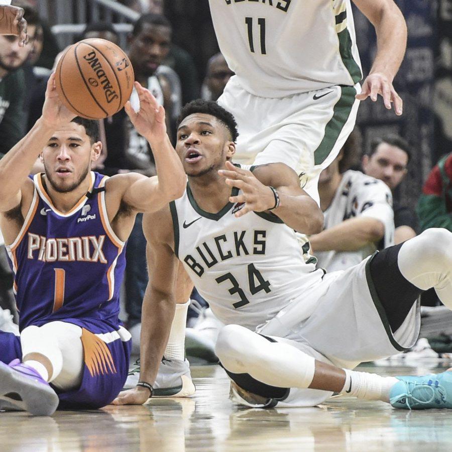 The Phoenix Suns beat the Milwaukee Bucks.