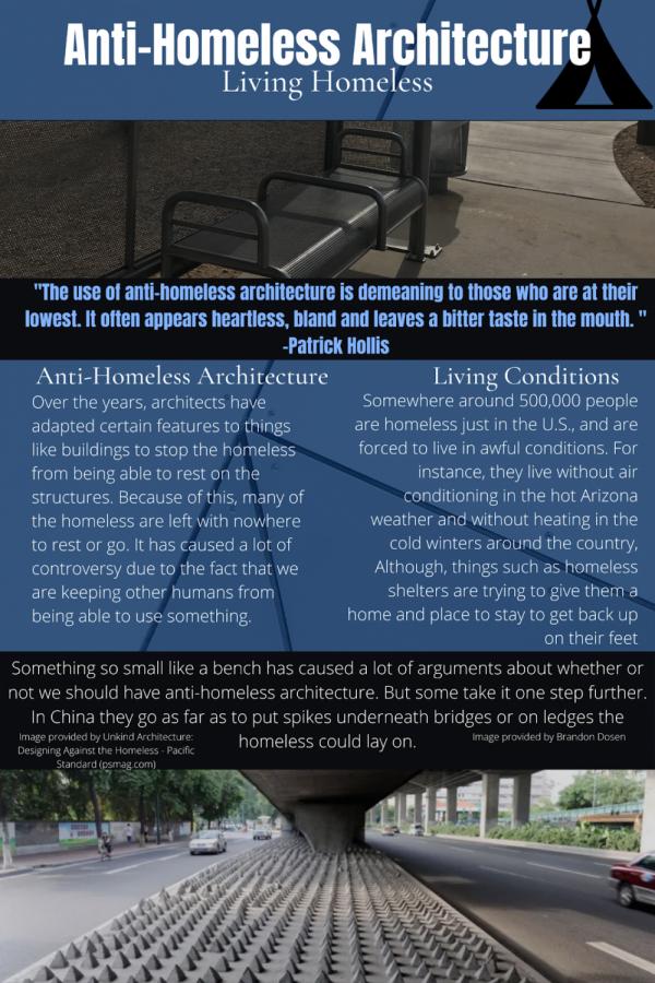 Anti-Homeless Architecture