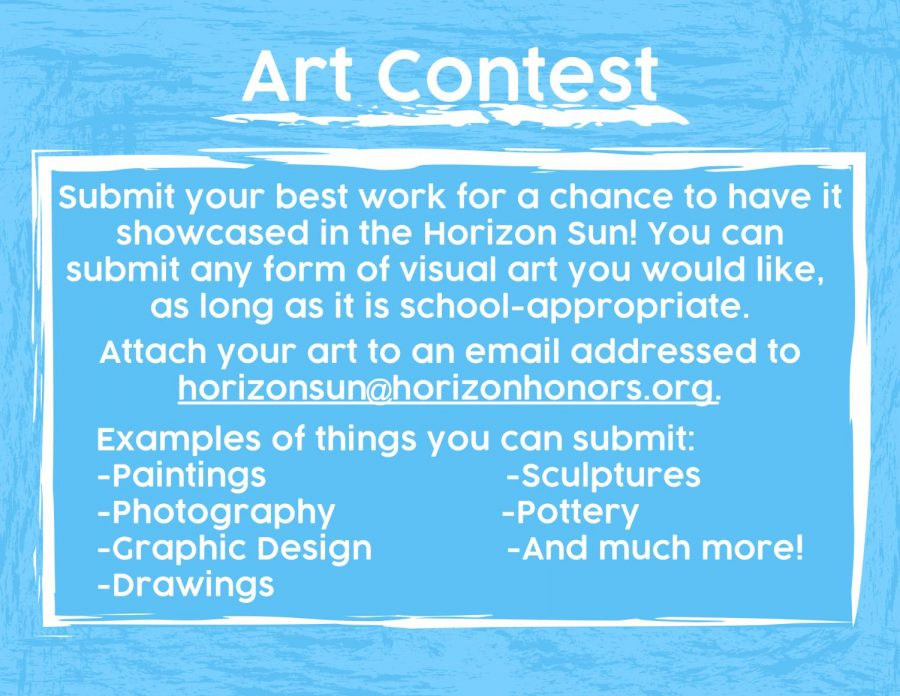 Horizon Sun Art Contest