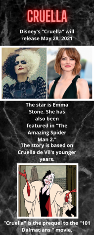 "Upcoming ""Cruella"""