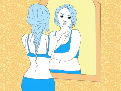 I struggle with body dysmorphia.